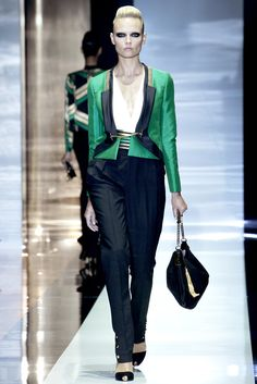 Gucci Spring 2012 Ready-to-Wear Fashion Show - Natasha Poly