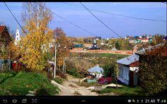 Вид на женский Знаменский монастырь.