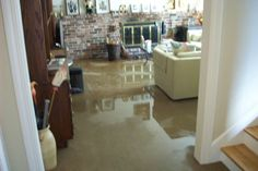 Basement: Simple Basement Flooding Cleanup With Basement Flooding Through Floor And Basement Flooding Pump from 4 Effective Ways to Prevent Basement Flooring