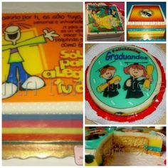 Gelatina y torta 2en1