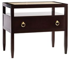 Buy Calvin Bedside Table (171-045) - Night Stands - Tables - Furniture - Dering Hall