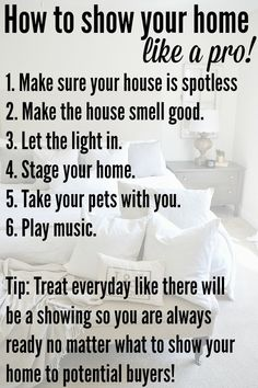 How To Sell Your Home Fast - Make sure your home is spotless!