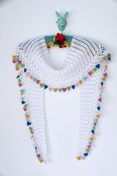 My new pattern, I Love Summer Scarf is out now!