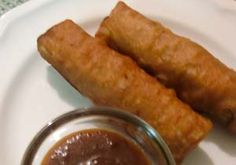 Easy Gluten Free Egg Rolls – Eggrolls (BBQ Pork)   I would have to make vegetarian, but sounds so yum.  I miss chinese food!