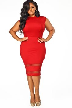 15 Plus-Size Dresses Perfect For Party Time — Excellent! #refinery29 http://www.refinery29.com/plus-size-dresses#slide4