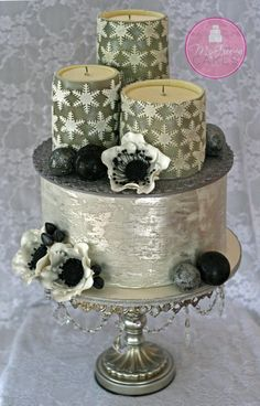 Edible Candles & Antique Silver Leaf Tutorials!