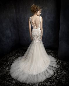 Kenneth Winston 1727, Autumn 2017 collection available at Camellia Bridal