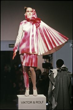 Viktor & Rolf couture fashion design