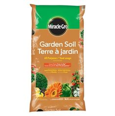 Shop Miracle Gro All Purpose Garden Soil At Lowes Canada Find Our Selection Of The Lowest Price Guaranteed With Match Off