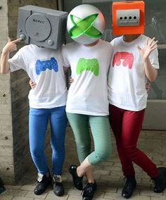 Cool Retrogaming Costumes for Halloween