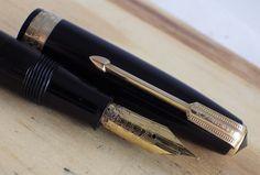 #Platinum R14 (Stock#2241) Restored Vintage British Fountain Pens
