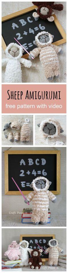 Free Stuffed Animal Plush Toy Crochet Pattern #amigurumi #freepattern #tutorial #pattern #plush #crochetpattern