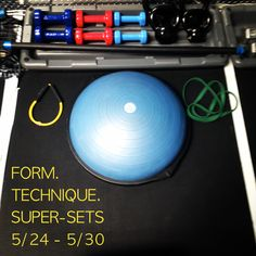This weeks focuses are Form. Technique. Super Sets. 5/24 - 5/30. Only at Poise Fitness.