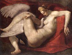Λήδα και Κύκνος (1535-60) Εθνική Πινακοθήκη στο Λονδίνο