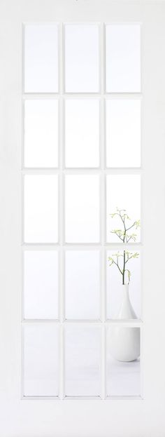 Details about white 15 glass panel internal french doors for 15 panel glazed internal door