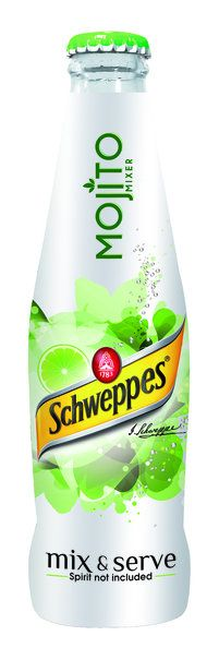Only 11am, but I could really go a Schweppes Mojito - WITH spirit