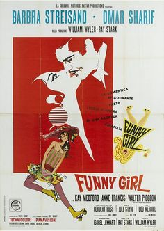 The life of comedienne Fanny Brice, from her early days in the Jewish slums of the Lower East Side, to the height of her career with the Ziegfeld Follies, including her marriage to and eventual divorce from her first husband, Nick Arnstein.   Director: William Wyler