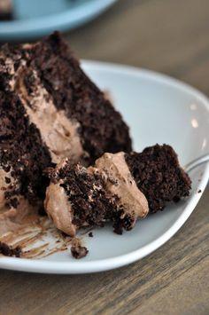 Decadent Gluten-Free Chocolate Quinoa Cake