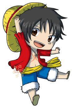 Monkey .D. Luffy- One Piece