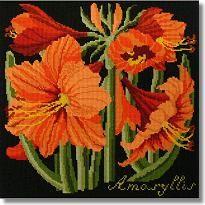 Elizabeth Bradley: Amaryllis Tapestry Kit