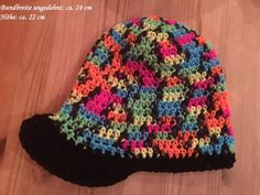 Mütze/Beanie - Hut - gehäkelt