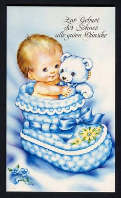 Congratulations on the birth of the son! Baby Clip Art, Baby Art, Vintage Scrapbook, Baby Scrapbook, Baby Images, Baby Pictures, Boy Illustration, Illustrations, Cute Kids