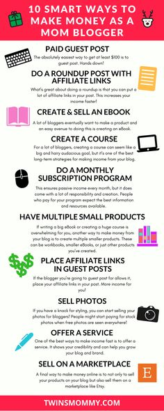 Want to make money from home? The best way is to start making money with your blog. You can be a mom blogger making money fast with these 10 smart ways | make money online | make money at home as a mom | make money at home fast | make extra cash because you need it