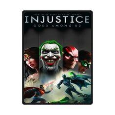"Custom Blanket 80""x58"" Injustice Gods Among Us 375508"