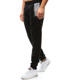 Čierne pánske tepláky Sweatpants, Fashion, Moda, Fashion Styles, Fashion Illustrations