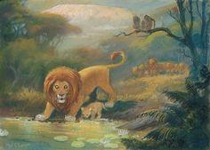 Mel Shaw, The Lion king Consept Art
