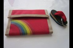 nostalgia I had both of these when I was young, loved my Velcro wallet and of course the key chain too :) School Memories, Great Memories, 90s Childhood, Childhood Memories, Velcro Wallet, Rainbow Flip Flops, Karate Kid, Retro, Old Toys