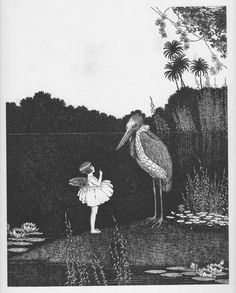 Ida Rentoul Outhwaite 'Good Advice' 1931 | eBay