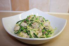 Low Fat Garlic & Herb Chicken Courgette Pasta | Macro Mitch