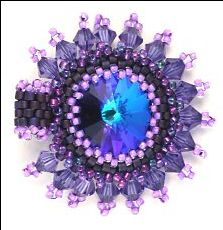 Whimbeads Free Peyote Bezel Tutorial - Media - Beading Daily