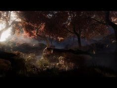 Creating a quick Unreal Engine 4 forest scene - YouTube