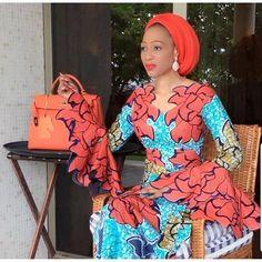 Beautiful Ankara Styles For Church Ankara Styles For Women, Beautiful Ankara Styles, Ankara Dress Styles, African Dresses For Women, African Print Dresses, African Attire, African Wear, African Fashion Dresses, African Women