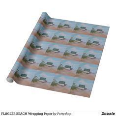 FLAGLER BEACH Wrapping Paper