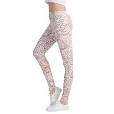 """Abstract Butterfly Leggings Size Fits XS to L: Waist: 23-34"""" (60-88cm) Hips: 37-45"""" (96-116cm) Length: 36.2"""" (92cm)"""