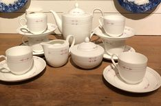 Teservise fra Heinrich, villeroy & Boch «Osiris» | FINN.no Fine Porcelain, Tableware, Dinnerware, Tablewares, Dishes, Place Settings