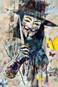 El haker Flash Wallpaper, Hacker Wallpaper, Cover Wallpaper, V For Vendetta Tattoo, V Pour Vendetta, Art Sketches, Art Drawings, Graffiti Wallpaper, Band Wallpapers