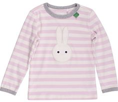 Fred's World by Green Cotton Girl's Bunny Stripe T Blouse