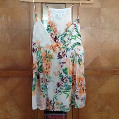 Floral spaghetti strap top Summer top with a lot of color  Cotton On Tops