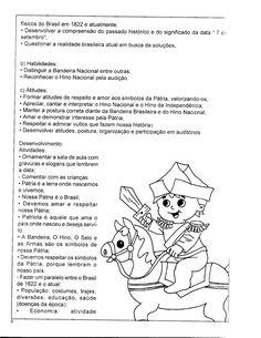 Baú da Tia Keyla: Independência do Brasil - Educação Infantil