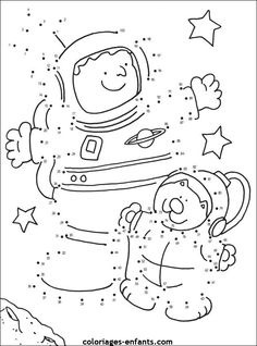 Space dot to dots Space Theme Preschool, Space Activities, Preschool Activities, Colouring Pages, Coloring Sheets, Apolo Xi, Space Solar System, Summer Reading Program, Space Party