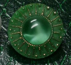 Moonglow Glass Buttons
