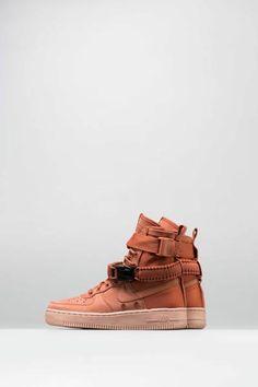 new styles 6659f d89dd Sf air force 1 womens shoe - rust rust