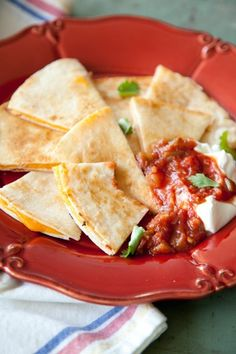 Check out what I found on the Paula Deen Network! Cheese Quesadillas http://www.pauladeen.com/recipes/recipe_view/cheese_quesadillas