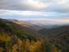 Smoky Mountains ... Love going here in the fall and winter!