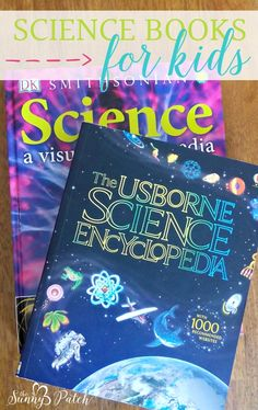 Science books for kids - our favorite science picture books, encyclopedias, and experiment books. Maybe you'll find a new favorite!