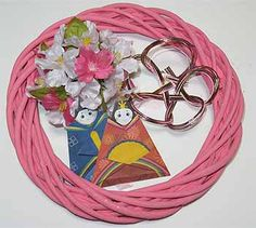 20160117-03 Nichijou, Wreaths, Door Wreaths, Deco Mesh Wreaths, Floral Arrangements, Garlands, Floral Wreath, Garland
